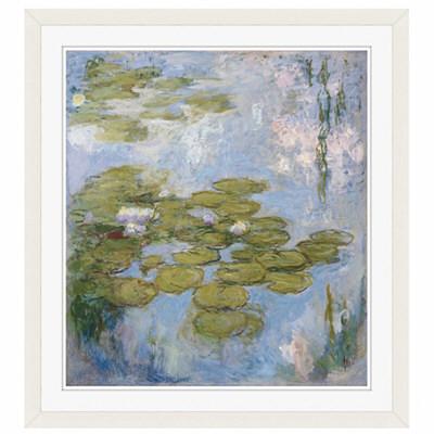 アートプリントジャパン 「Nympheas by Claude Monet」 フレーム/M/ホワイト 1枚