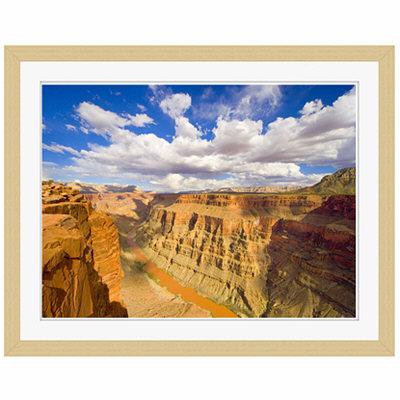 アートプリントジャパン 「Grand Canyon and Colorado River」 フレーム/S/木目 1枚