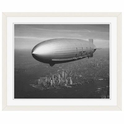 アートプリントジャパン 「ニューヨーク(1930年代)」 フレーム/S/ホワイト 1枚
