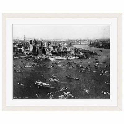 アートプリントジャパン 「ニューヨーク(1927年)」 フレーム/S/ホワイト 1枚