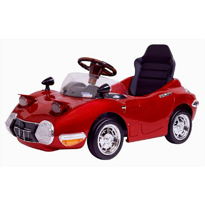 A-KIDS トヨタ2000GT バッテリー レッド ミズタニ 1台 TGT-BR (直送品)