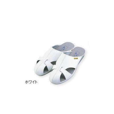 アズワン アズピュアベルタスリッパ ホワイト LLサイズ 1-4815-05 (直送品)