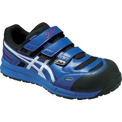 アシックス セーフティーシューズ ウィンジョブCP102 ブルー×ホワイト 26.0cm FCP102.4201-26.0 1足 494-4275 (直送品)