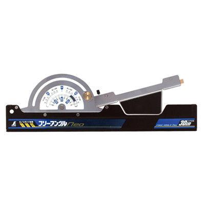 シンワ測定 丸ノコガイド定規 フリーアングル Neo 30cm 73160 1セット(2個) (直送品)