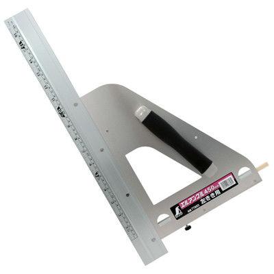 シンワ測定 丸ノコガイド定規 エルアングル 45cm 併用目盛 左きき用 77803 1セット(2個) (直送品)