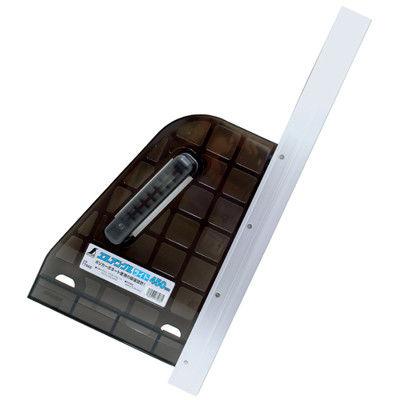 シンワ測定 丸ノコガイド定規 エルアングルライト 45cm 77966 1セット(4個) (直送品)