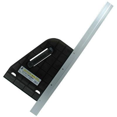 シンワ測定 丸ノコガイド定規 エルアングルライト 60cm 77967 1セット(2個) (直送品)