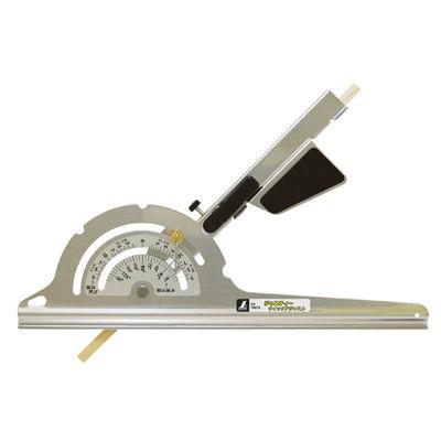 シンワ測定 丸ノコガイド定規 ジャスティー クイックアジャスト 23cm 78079 1セット(4個) (直送品)