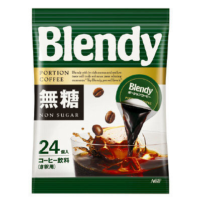 ブレンディポーションコーヒー無糖