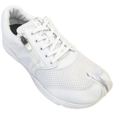 岡本製甲 足袋型ナースシューズ ラフィートナース LN06 ホスピタルホワイト 24.5cm 1足 (直送品)