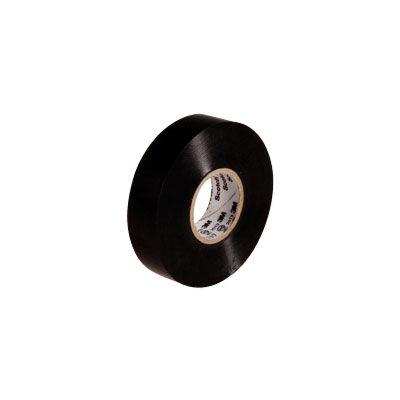3M(スリーエム ジャパン) Scotch(スコッチ) 電気絶縁用ビニルテープ 117 黒 19mm×20m 117 BLA 20 8個 (直送品)