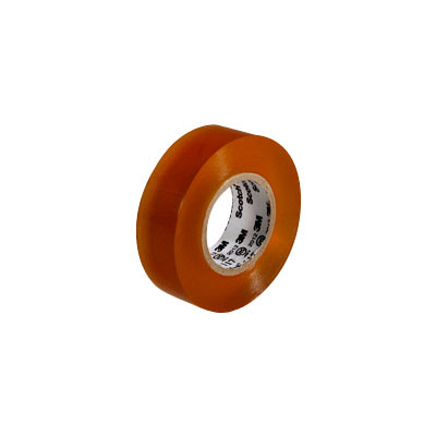 3M(スリーエム ジャパン) Scotch(スコッチ) 電気絶縁用ビニルテープ 117 透明 19mm×10m 117 CLE 10 15個 (直送品)