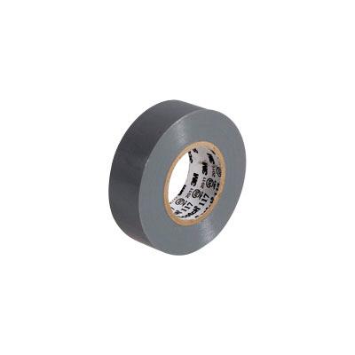 3M(スリーエム ジャパン) Scotch(スコッチ) 電気絶縁用ビニルテープ 117 灰 19mm×10m 117 GRA 10 15個 (直送品)