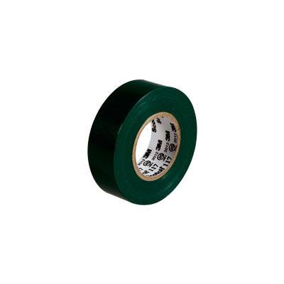 3M(スリーエム ジャパン) Scotch(スコッチ) 電気絶縁用ビニルテープ 117 緑 19mm×10m 117 GRE 10 15個 (直送品)