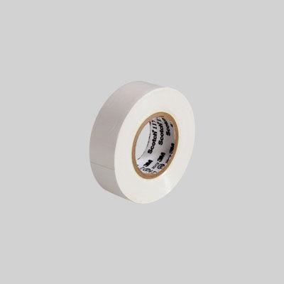 3M(スリーエム ジャパン) Scotch(スコッチ) 電気絶縁用ビニルテープ 117 白 19mm×10m 117 WHI 10 15個 (直送品)