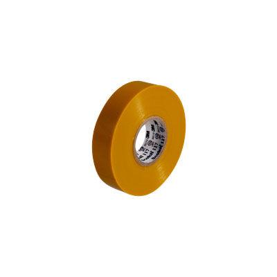 3M(スリーエム ジャパン) Scotch(スコッチ) 電気絶縁用ビニルテープ 117 黄 19mm×20m 117 YEL 20 8個 (直送品)