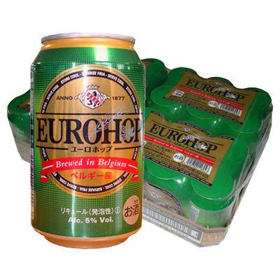 ユーロホップベルギー産330ml 24缶