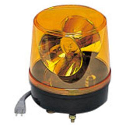 つくし工房 回転灯 黄色 AC100V 6250-Y (直送品)