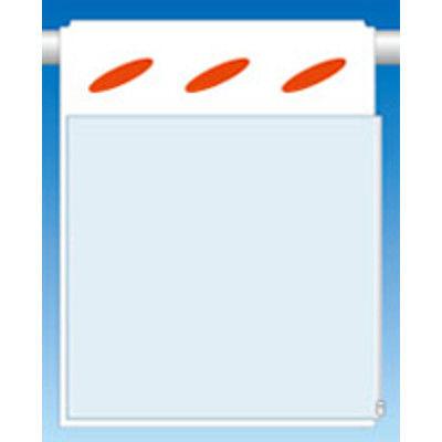 つくし工房 透明ポケット付つるしん坊 A3用タテヨコ兼用 横差込み 両面タイプ SK-902 (3枚1セット) (直送品)