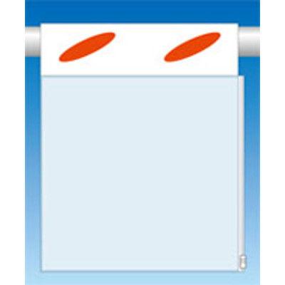 つくし工房 透明ポケット付つるしん坊 A4用タテヨコ兼用 横差込み 片面タイプ SK-905 (3枚1セット) (直送品)