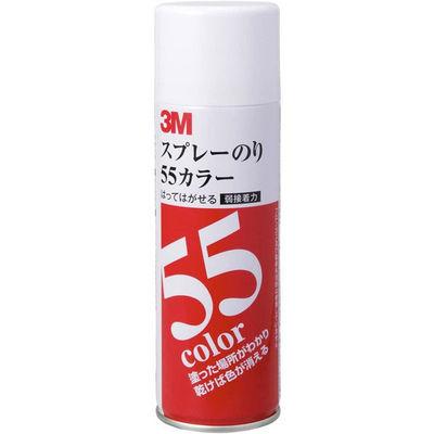 スリーエム ジャパン 3M(TM) スプレーのり カラー S/N 55C (直送品)