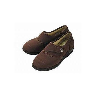 マリアンヌ製靴 彩彩ちりめん ブラウン 22 W1100(直送品)