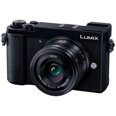 パナソニック ミラーレス一眼 ブラック LUMIX GX7 Mark III 単焦点ライカDGレンズキット 2030万画素 フォーサーズ Wi-Fi対応(直送品)