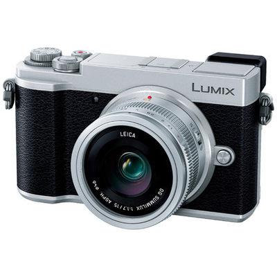 パナソニック ミラーレス一眼 シルバー LUMIX GX7 Mark III 単焦点ライカDGレンズキット 2030万画素 フォーサーズ Wi-Fi対応(直送品)