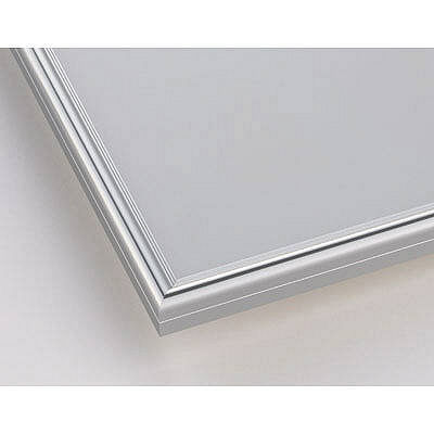ポスターフレーム A2サイズ 軽量アルミ製 DSパネル 12枚 シルバー 1000012563 アートプリントジャパン