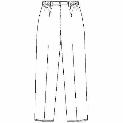 ナガイレーベン レディスパンツ ホワイト L HE1973 1枚 (取寄品)