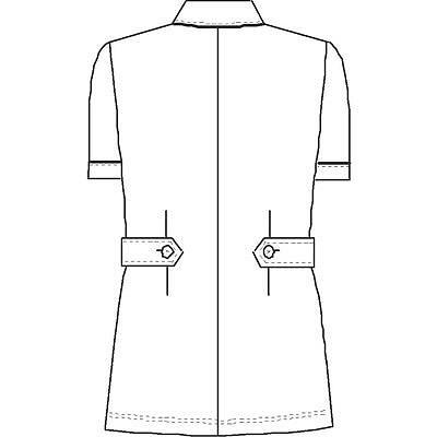 ナースジャケット HO1992 ブルー L