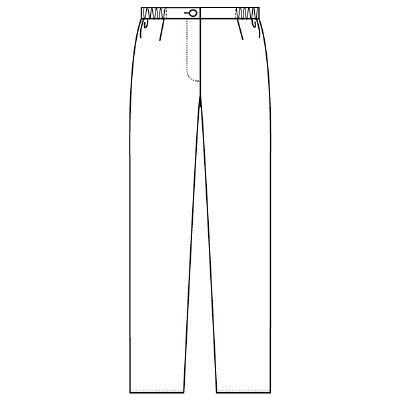 フォーク 女子パンツ 2917 ホワイト EL (取寄品)