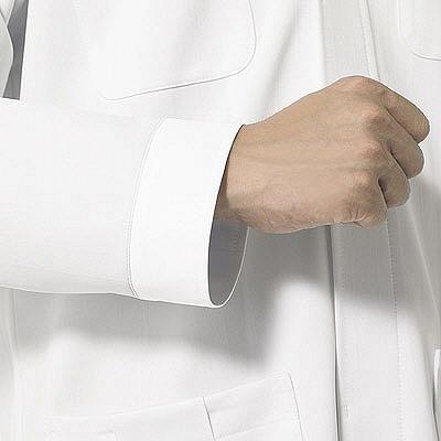 ルコックスポルティフ メンズ診察衣 LL ホワイト QNM4014(UQM4014) VAN LL (直送品)