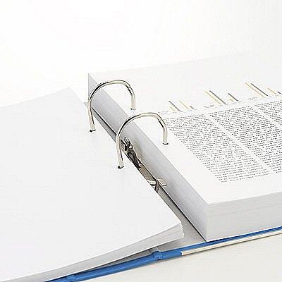 レバー式アーチファイル A5ヨコ 背幅50mm 10冊 ブルー SGLAFA5EBL ハピラ(取寄品)