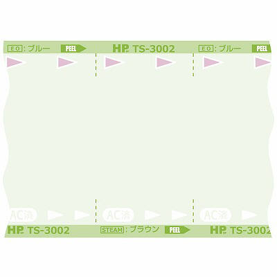 滅菌バッグロールタイプ TS-3004 200mm×200m 日油技研工業