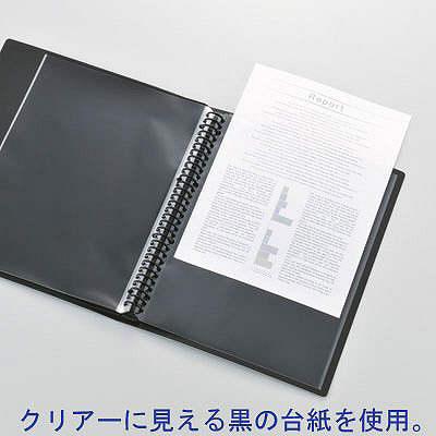 リヒトラブ 超光沢スーパーヴュー 交換式 黒 N222-24 (取寄品)