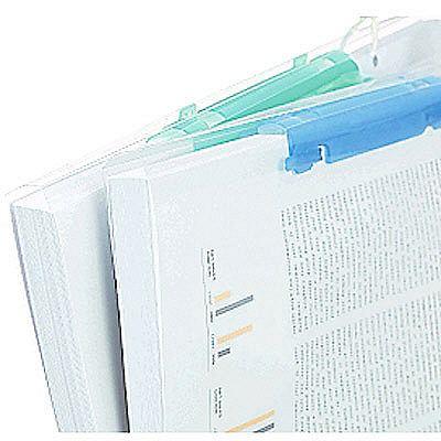 プレゼンファイル リヒトラブ ルーパーファイル A4タテ150枚とじ 青 F-3016 25冊 (取寄品)