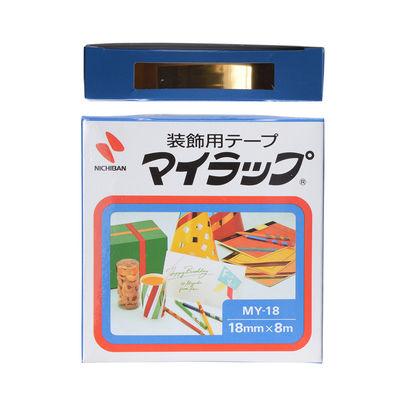ニチバン マイラップ 金 MY-189 1巻 (直送品)