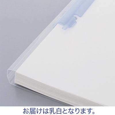 プレゼンファイル リヒトラブ ルーパーファイル A4タテ150枚とじ 乳白 F-3016-5P 200冊