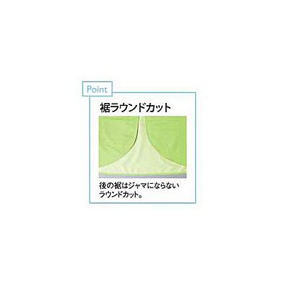 トンボ キラク 入浴介助用エプロン BL CR039-37-BL (取寄品)