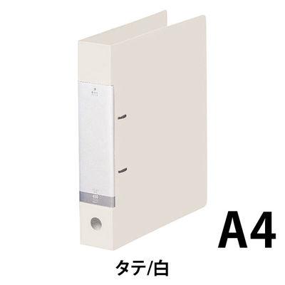 リヒトラブ D型リングファイル A4タテ 背幅56mm 白 G2240