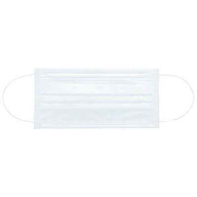 3層式プリーツマスクホワイト50枚
