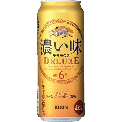 濃い味デラックス500ml×6缶