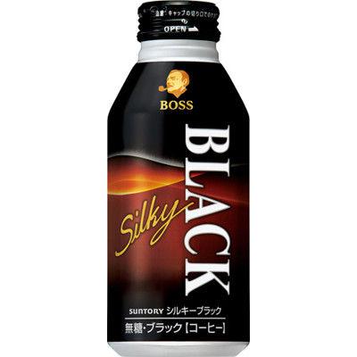 ボス シルキーブラック 400g 6缶