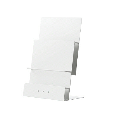 トヨダプロダクツ 机上パンフレットスタンド PSS-HP2 1台