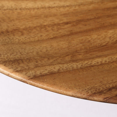 アカシア プレート約直径19×高さ2cm