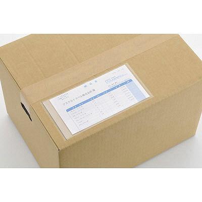「現場のチカラ」デリバリーパック ポケットタイプ 長4封筒用 1パック(100枚入) アスクル
