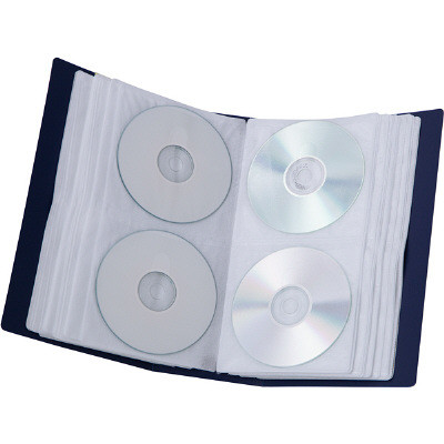 CD/DVD/BDファイルケース 96枚