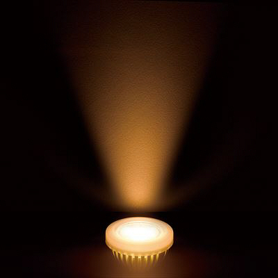 ハロゲン形LEDランプ4.3W電球色40°調光対応 LDR4LWE11D ヤザワコーポレーション
