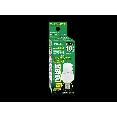 コスモボール・ミニ EFD10EN/7-E17-C3C 1箱(10個入) NECライティング